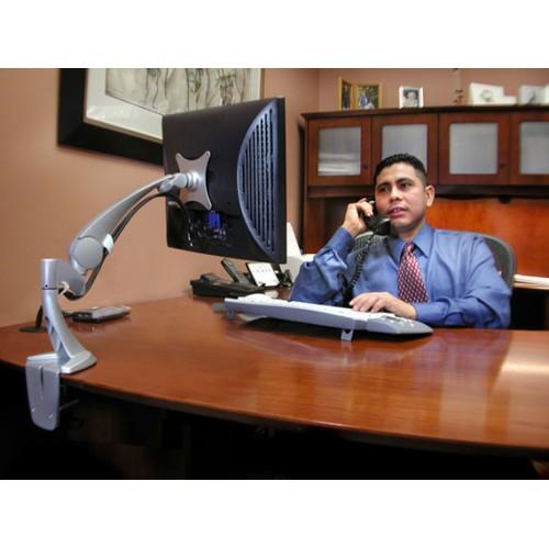 brazo neo flex articulado de monitor mesa o escritorio ergotron. Black Bedroom Furniture Sets. Home Design Ideas