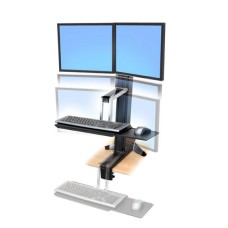 WorkFit-S, Dual Sit-Stand Workstation