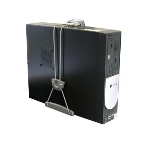 Soporte universal para cpu pared vertical mesa tubo - Soportes altavoces pared ...