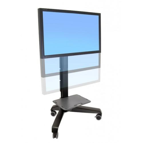 soporte de piso para pantallas de tv grandes con ruedas 70